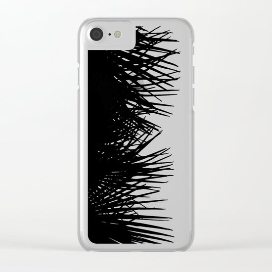 Side Fringe Clear iPhone Case