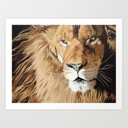 Fierce Protector Art Print