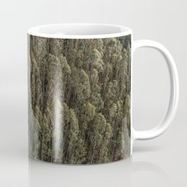 Eucalyptus forest from above Coffee Mug