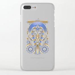 Egyptian God Thoth Clear iPhone Case