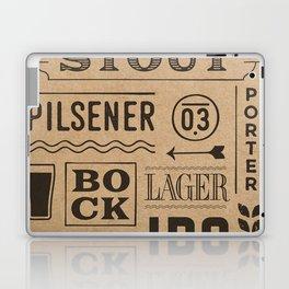 Type beer Laptop & iPad Skin