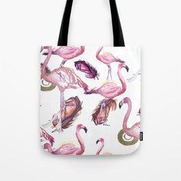 Flocked Tote Bag