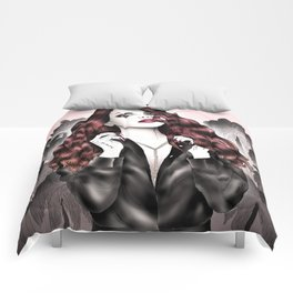 Dark Eden Comforters