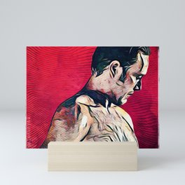 The Cannibal in Red Mini Art Print