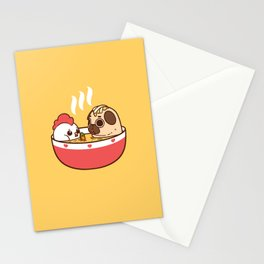Chicken Noodle Puglie Soup Stationery Cards