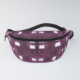 Shibori City Plum Wine Fanny Pack