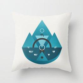 Sleeping Time Throw Pillow