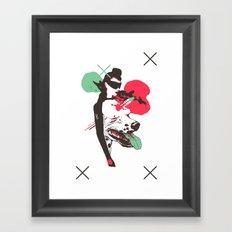 CARD 54 Framed Art Print