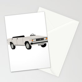 Eastern europe car Stationery Cards