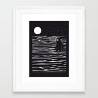 scary Framed Art Prints featuring Scary monster! by SpazioC