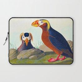 Tufted Auk Bird Laptop Sleeve