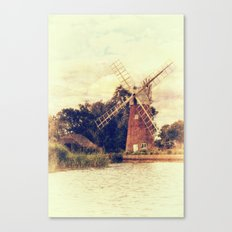 Hunsett drainage mill Canvas Print