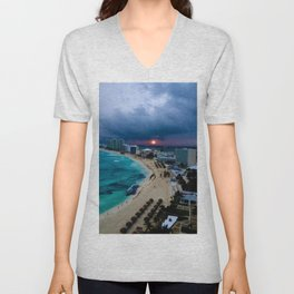 Cancún, Mexico Unisex V-Neck