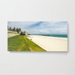 Cottesloe Beach, Perth, Western Australia Metal Print