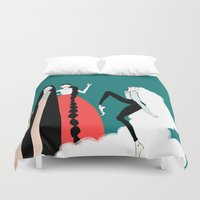 girls Duvet Covers featuring girls by 7043