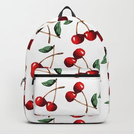 Cherry Red Backpack