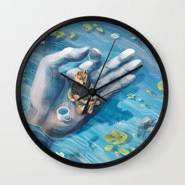 Shiba Fishing Wall Clock