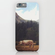 Lonely cow iPhone 6s Slim Case