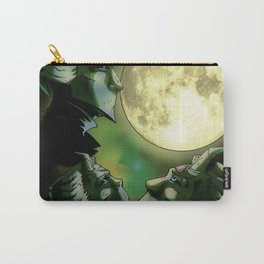 Three Ghoul Moon Carry-All Pouch