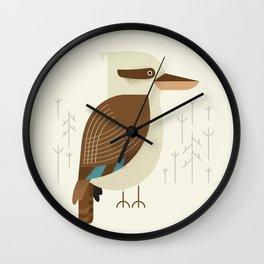 Laughing Kookaburra, Bird of Australia Wall Clock