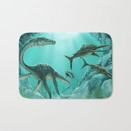 Underwater Dinosaur Bath Mat