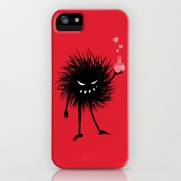 Evil Bug Made A Love Potion For You iPhone Case