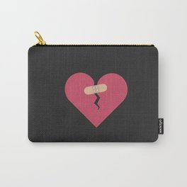 broken heart healed by patch Carry-All Pouch