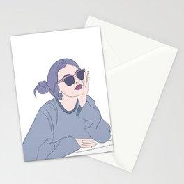Fashion illustration - Girl Gang Prints - Blair Stationery Cards