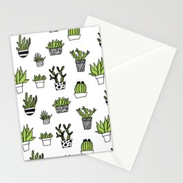 Catus patten Stationery Cards
