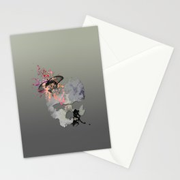 Butterflies in my Skull Stationery Cards