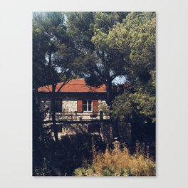 Turquise days Canvas Print