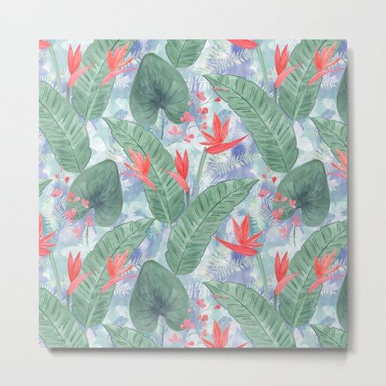 Tropical pattern 4 Metal Print