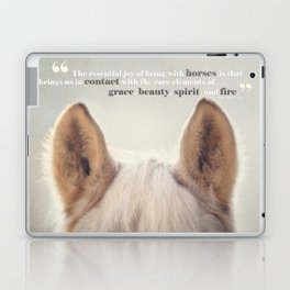 Grace, Beauty, Spirit & Fire Laptop & iPad Skin