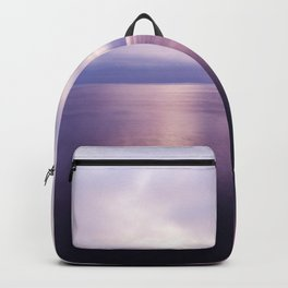 Sunset near Catalina Island in Shades of Purple Backpack