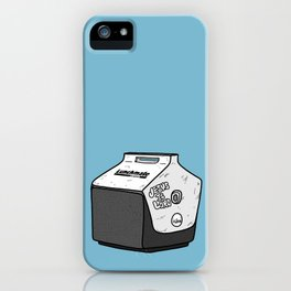 Uncle Jimmy's Lunchbox iPhone Case