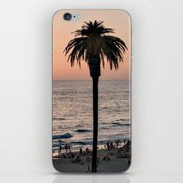 Moonlight Beach Sunset iPhone Skin