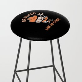 BROTHER LIKE NO OTHER Bar Stool