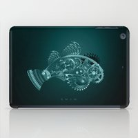 swim iPad Cases featuring swim by merci
