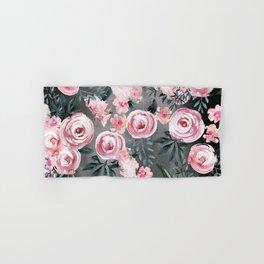 Night Rose Garden Hand & Bath Towel