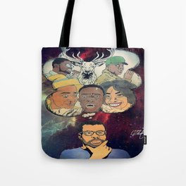 the thinking man Tote Bag