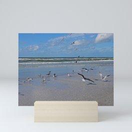 Beach Battalion Mini Art Print