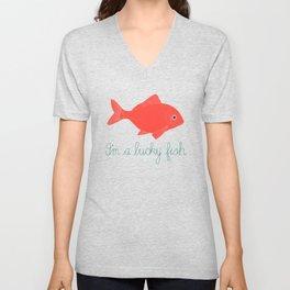 Lucky Fish Unisex V-Neck