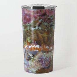 Orange Nudi Flabellina Travel Mug