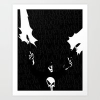 punisher Art Prints featuring The Punisher by Rob O'Connor