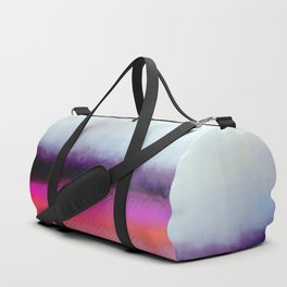 Pink Silver Duffle Bag