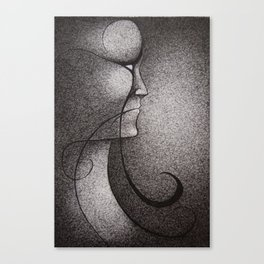 Black and White 1 Canvas Print