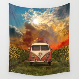 summer landscape Wall Tapestry
