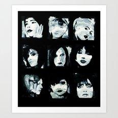 Muses Art Print