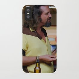 Jeff Bridges & Sam Elliot @ The Big Lebowski (Joel and Ethan Coen - 1988) iPhone Case