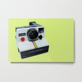 Polaroid OneStep Camera Metal Print